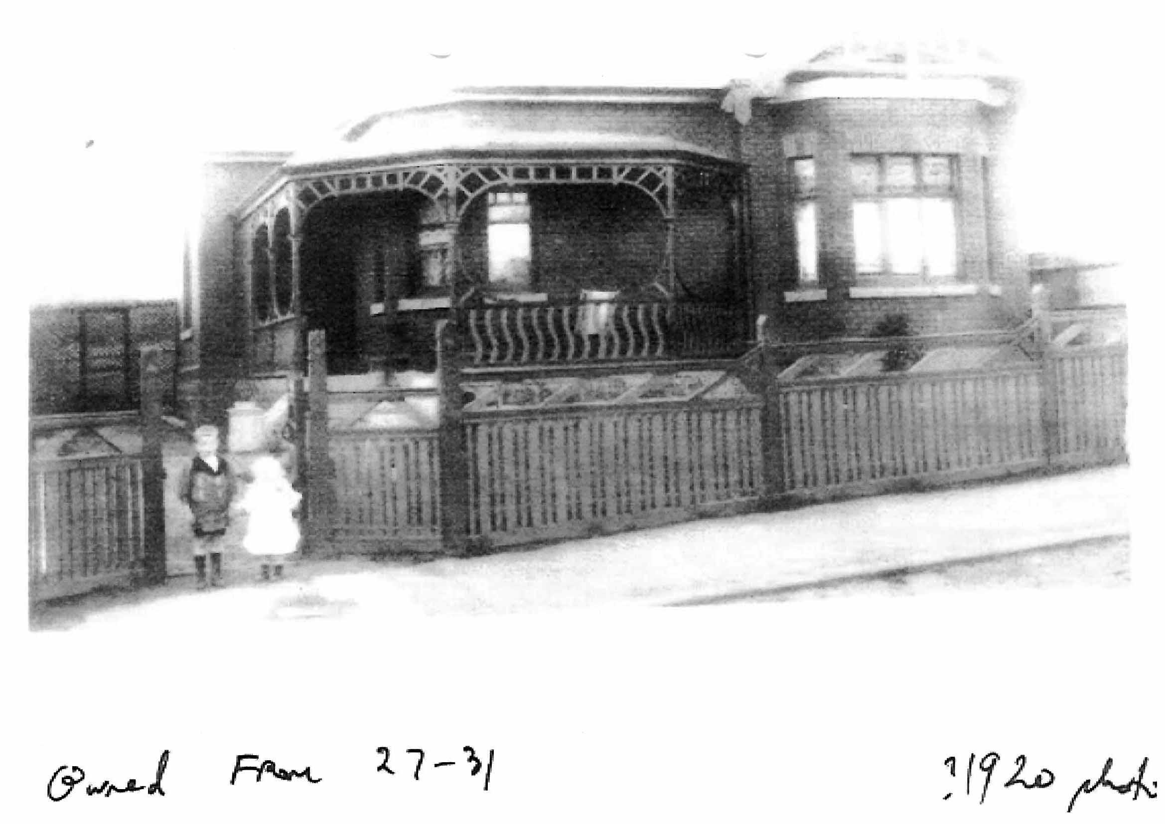 Original Building Motif House
