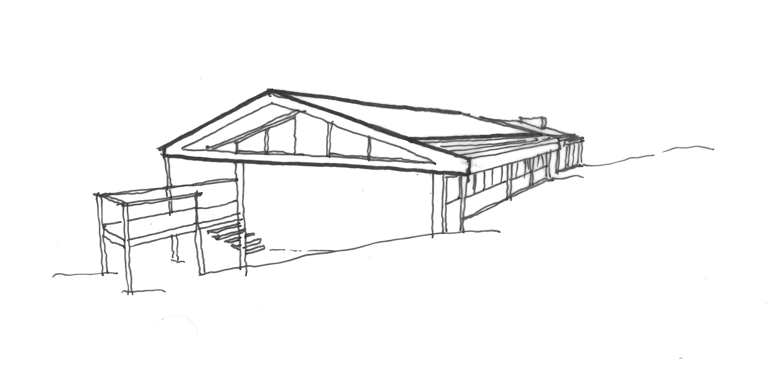 front sketch